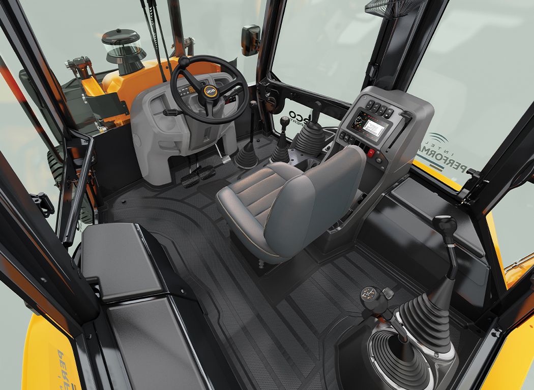 JCB Operator comfort fuel efficiency